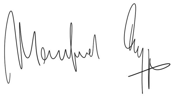 Unterschrift Manfred